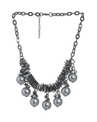 Pearl Tribal Collier