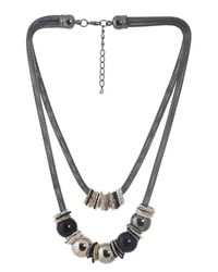 Gun Metal Trial Necklace