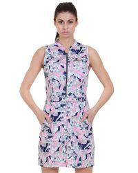 Poplin Zipper Dress