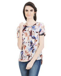 Color Fest Bluebell Top