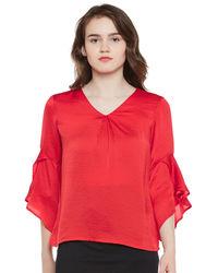 Scarlet Bell Sleeves Top