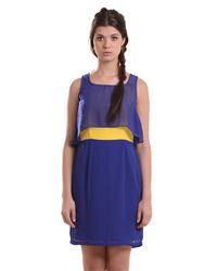 Sapphire Shift Dress