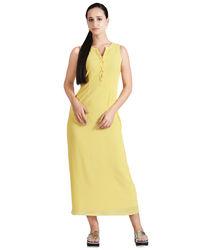 Corn Maxi Dress