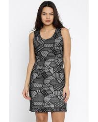 Noir lace Shift Dress