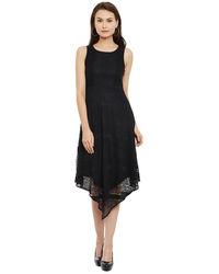 Noir Asymmetric Dress