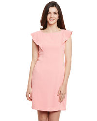 Pearl Pink Shift Dress