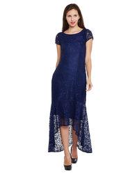 Indigo Hi-Lo Dress