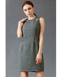 Charcoal Grey Short Dress