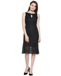 Noir Mermaid Lace Short Dress