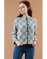 Stone Grey Short Jacket