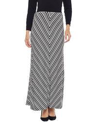 Monochrome Straight Skirt