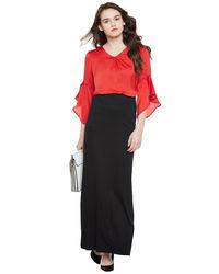 Noir Maxi Skirt
