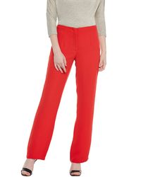 Venetian Red Straight Pants