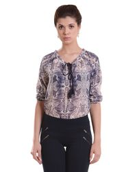 Sheer Concord Grape Top