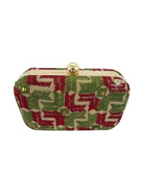 Handmade Phulkari Box clutch- Multicolor-2