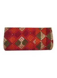 Phulkari Clutch Bag