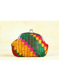 Phulkari Coin Purse