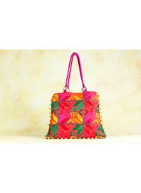 Phulkari Shoulder Bag