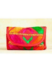 Phulkari 2 -Fold Wallet