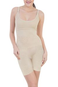 Glus Body Bracer - Ladies Super Slimmer Shapewear, Color- Nude