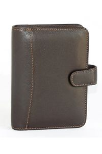 Elan Leather Elp-792 Brown Personal Dated Organizer