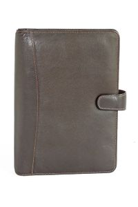 Elan Leather Elp-991 Brown Business Dated Organizer