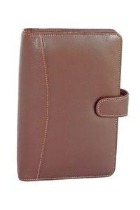 Elan Leather Elp-891 Tan Executive Dated Organizer