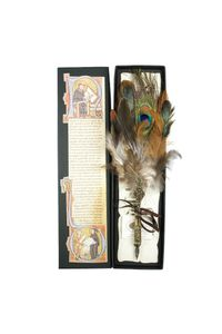 Rubinato Quill Pen Md05 Assorted Feather