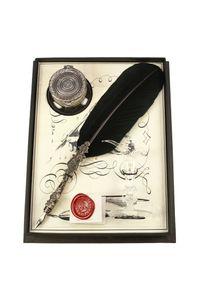 Rubinato Quill Pen 7342 Black Goose Feather