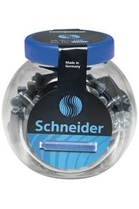 Schneider Ink Cartridge Jar Small Blue
