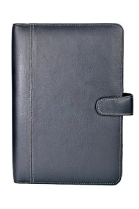 Elan Leather Elj-191 A5 Undated Black Journal