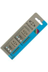 Parker Ink Cartridge Turquoise Blue Small