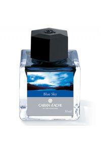 Caran D' Ache Ink Bottle 30 Ml Sky Blue