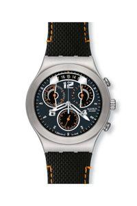 Swatch Men'S Watch Ycs514 Irony Fine Steel