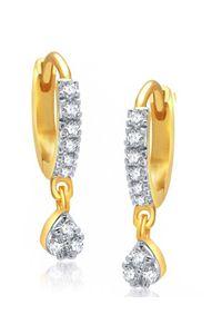 YouBella Fancy Drop Gold Plated Bali Earrings for Women