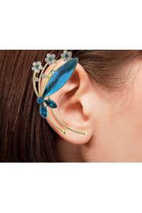 YouBella Trendy Gold Plated Austrian Crystal Earcuff