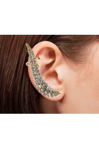 YouBella Trendy Gold Plated Leaf Earcuff