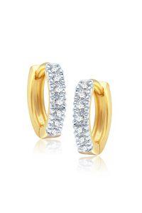 YouBella Fancy Gold Plated Bali Earrings for Women