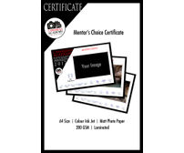 Mentor's Choice Certificate