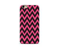 Black And Pink Zigzag Phone Case