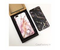 Golden Marble Phone Cases