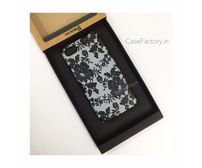 Black Grey Lace Phone Case