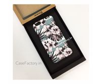 Green and Black Floral Phone Case