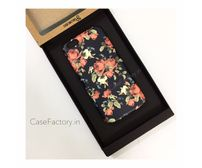 Black Red Yellow Roses Phone Case