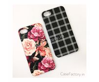Rose Bouquet/Triple Lattice Phone Case
