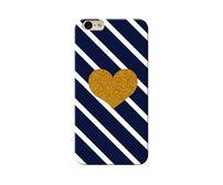 Golden Heart Phone Case