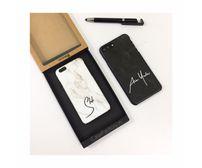 Custom name on Marble phone case