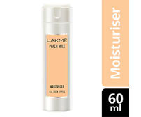 Lakme Peach Milk Moisturizer Body Lotion, 60 ml bottle
