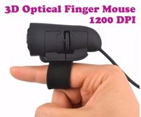 Gadget Hero's 3D Optical Finger Mouse 1200 DPI For Desktop & Laptop Computers. Windows & MAC Compatible.