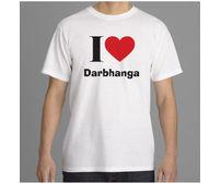 I Love Darbhanga T-Shirt (White)